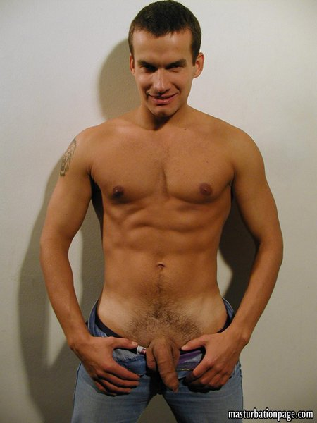 European Marcin has a huge uncut cock11
